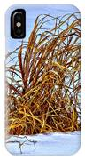 Winter Grasses II IPhone Case