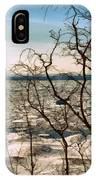 Winter Ice On Lake Michigan IPhone Case