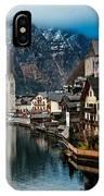 Winter In Hallstatt IPhone Case