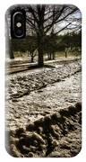 Winter In The Berkshires IPhone Case