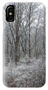 Winter In The Heartland 5 IPhone Case