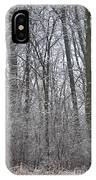 Winter In The Heartland 8 IPhone Case