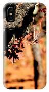 Winter In The Vineyard IPhone Case
