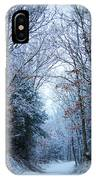 Winter Lane IPhone Case