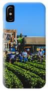 Winter Lettuce Harvest IPhone Case