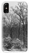 Winter Light Post IPhone Case