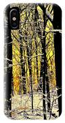 Winter Mood Lighting IPhone Case