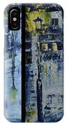 Winter Night In The City IPhone Case