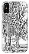Winter Oaks IIi IPhone Case