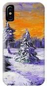 Winter Outlook IPhone Case