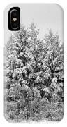 Winter Pine IPhone Case