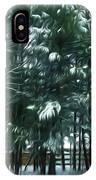 Winter Pine Tree  IPhone Case