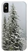 Winter Pines 2013 IPhone Case