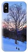 Winter Poplar Tree IPhone Case