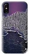 Winter River Oulanka National Park Lapland Finland  IPhone Case
