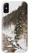 Winter River IPhone Case