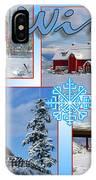 Winter Scenes  IPhone Case