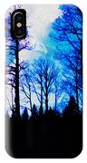 Winter Silhouettes - Ghost Eagle IPhone Case