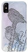 Winter Sparrows 2 IPhone Case