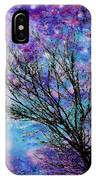 Winter Starry Night Square IPhone Case