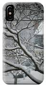 Winter Street IPhone X Case