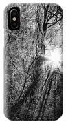 Winter Sunburst IPhone Case