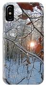 Winter Sunset 2 IPhone Case