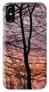 Winter Sunset Wsp IPhone Case