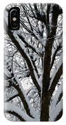 Winter Tree 1 IPhone Case
