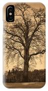 Winter Tree - Old IPhone Case