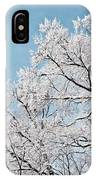 Winter Tree Scene IPhone Case