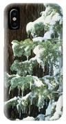 Winter Tree Sierra Nevada Mts Ca Usa IPhone Case