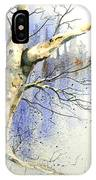 Winter Tree With Birds IPhone Case