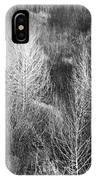 Winter Trees  B And W 1 IPhone Case