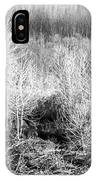 Winter Trees B And W 3 IPhone Case