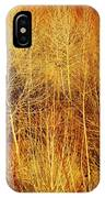 Winter Trees Color 4 IPhone Case