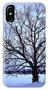 Winter Twilight Tree IPhone Case