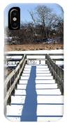 Winter Walkway IPhone Case