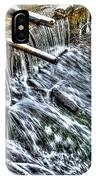 Winter Waterfall 2 IPhone Case