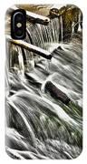 Winter Waterfall IPhone Case