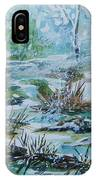 Winter Whispers On Catskill Creek IPhone Case