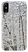 Winter White Trees IPhone Case