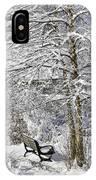 Winter Wonderland 9 IPhone Case
