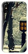Wintered Lantern IPhone Case