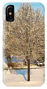 Winters Bradford Pear IPhone Case