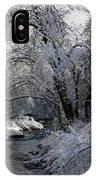 Winter's Canvas IPhone Case