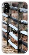 Winter's Fence IPhone Case