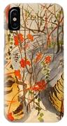 Winter's Paintbrush IPhone Case