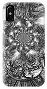 Winter's Vortex IPhone Case