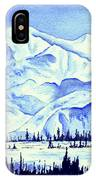 Winter's White Blanket IPhone Case